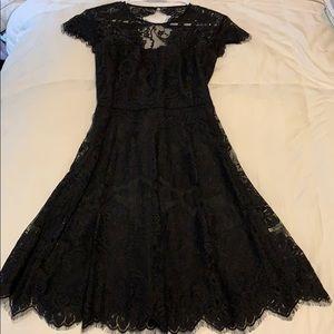 Lil Black Lace Dress